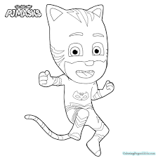 Pj Masks Coloring Pages Best Of Astonishing Ideas Pj Mask Coloring
