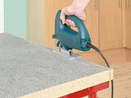 astounding cutting laminate countertop for your home decor