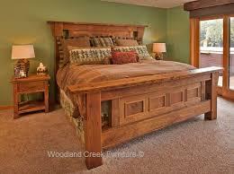 elegant rustic furniture. Old Wood Panel Beds Elegant Rustic Furniture E
