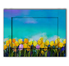 Купить <b>картина с Арт рамой</b> Тюльпаны 60 х 80 см, цены в Москве ...