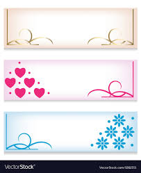 Banner Patterns Unique Banner Set With Abstract Patterns Royalty Free Vector Image