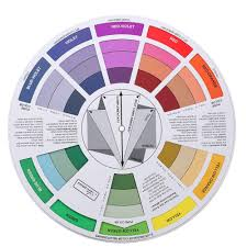 Red Color Wheel Chart Genuine Double Sides Tattoo Pigment Color Wheel Chart Color