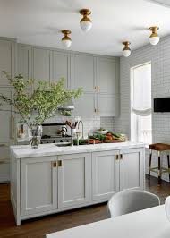switching out recessed lights for flush mount lights is a great solution if you have a smaller kitchen where pendants just aren t an option or if you have a