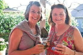 Longboat ladies celebrate 'April Girls' - Peggy Watkins and Lynne Hayden |  Your Observer