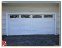 replace garage door panel panels bent repair cost replacing with windows