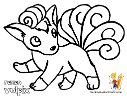 Small Picture Printable Pokemon Coloring Pages