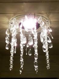 the happy homebos diy faux crystal chandelier inspiring earrings writer cleaning billie lighting parts uk