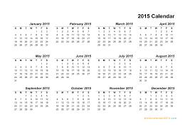 Annual Calendar 2015 Best Photos Of Editable 2015 Yearly Calendar 2015 Calendar