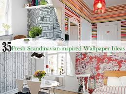 Small Picture Scandinavian Wallpaper Interior Decorating and Home Design Ideas