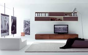 White Living Room Cabinets Appeliang Brown Television Wall Cabinet Design Idea With Black