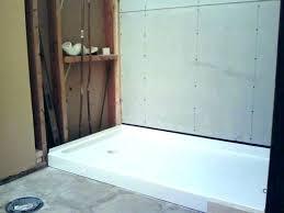shower pans at tile ready pan in base imposing 1