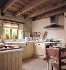 Small rustic kitchen ideas - Small rustic single-wall kitchen idea in  Gothenburg with a