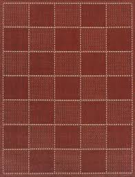 checked flatweave terracotta red rugs checked flatweave terracotta red rugs