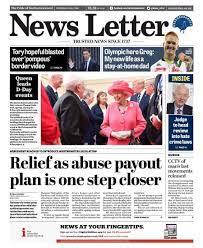 NI paper review: Trump dominates the headlines - BBC News