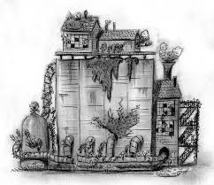 back in 2008 while working on a picture book called the curious garden i spent a lot of time making sketches like this