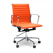 Eames ribbed chair tan office Lighting Ideas Eames Orange Short Back Style Ribbed Office Chair Eames From Cult Furniture Uk Safest2015info Eames Orange Short Back Style Ribbed Office Chair Eames From Cult