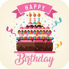 App Insights Happy Birthday Cake Simple Birthday Cake Recipe