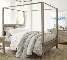 Farmhouse Canopy Bed | Wooden Beds | Pottery Barn