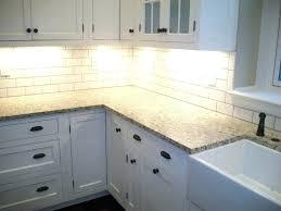 white kitchen cabinets subway tile backsplash white kitchen