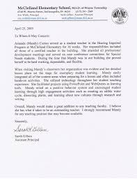 letter of recommendation for assistant principal recommendation assistant principal s cover