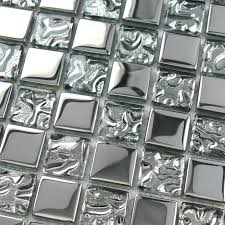 crystal glass tiles sheet square mosaic