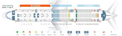 Seat Map Boeing 777 200 American Airlines Best Seats In The