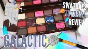 i heart revolution galactic chocolate palette review hollife