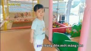 Nhạc Thiếu Nhi Vui Nhộn - Karaoke Hai Con Thằn Lằn Con Remix - Chị Sâu Vlog  Đi Chơi Nhà Bóng Vui Vẻ - YouTube