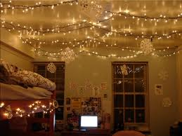 ... Inspiring Tumblr Room Ideas Decorating With String Lights Indoors Christmas  Lights In Dorm Room ...