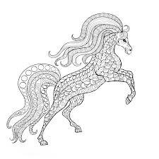 Kleurplaten Voor Volwassenen Paarden Kerst 2018