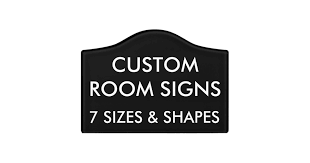 Custom Personalized Room Sign Blank Template Zazzle Com