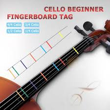 Us 2 45 14 Off Position Marker Decal Fingerboard Fret Guide Label Finger Chart Beginner Cello Sticker Accessories White 2019 New In Cello From