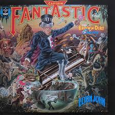 <b>Elton John</b> - <b>Captain</b> Fantastic And The Brown Dirt Cowboy