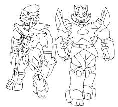 Power Ranger Printable Coloring Pages Prsmcoloringsilver Adult