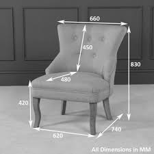 Oak Bedroom Chair Vogue Natural Fabric Bedroom Chair With Oak Legs