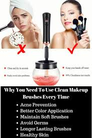 are you worried about your dirty makeup brushes dirty makeup brushes are ineffective for applying