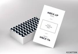 Vertical Business Cards Mockup Buy This Stock Template And