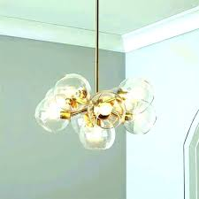 diy glass bubble ceiling light chandelier by solaria s chand