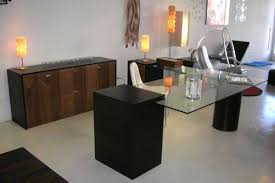 modern computer desk office furniture minimalist design laptop