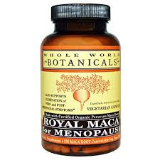 Whole World Botanicals <b>Royal Maca For</b> Menopause - 120 VCaps ...
