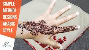 Mehandi Design In Arabic Style Mehndi Designs Simple Mehndi Designs For Hands Arabic Style
