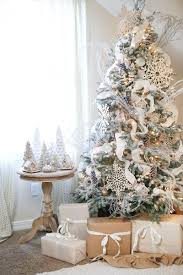 I decorated this tree with ornaments from the Frosty Morning Collection,  and I love the wintery look and feel it gives to the space.