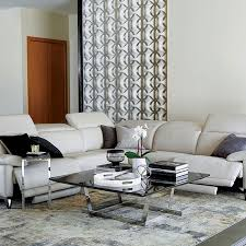 power reclining sectional sofa leather
