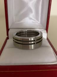 Aldo Stainless Steel 316 Mens Ring