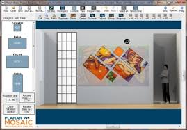Small Picture Mosaic Video Wall Designer Software Planar