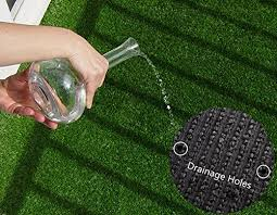 fake grass indoor. Efivs Arts Artificial Grass Indoor/Outdoor Area Rug Lawn Mat For Party Decoration Pet Fake Indoor I