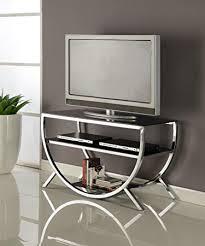 chrome furniture. kings brand furniture metal with glass top u0026 shelves tv stand chrome m