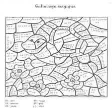 Coloriages Magiques Dans Coloriage Magique Compl Ments 10
