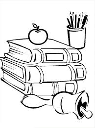 Small Picture Back to School Coloring Pages Back to School All Supplies are