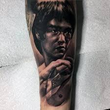 60 Bruce Lee Tetování Vzory Pro Muže Nápady Bojových Umění